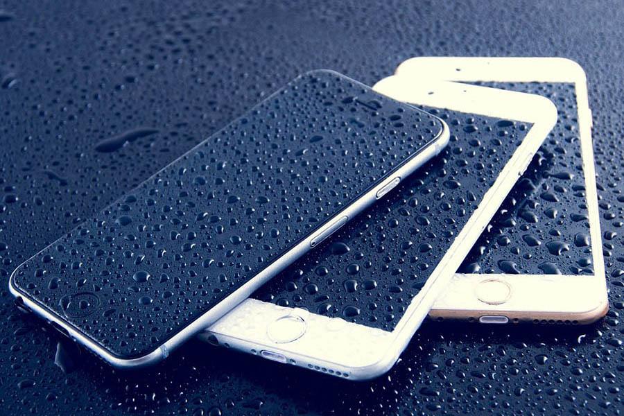 zalany telefon smartfon