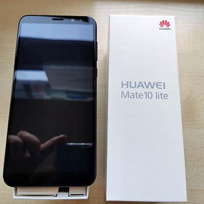 Huawei Mate 10 lite po naprawie lcd