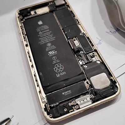 rozkręcony Iphone w serwisie GSM