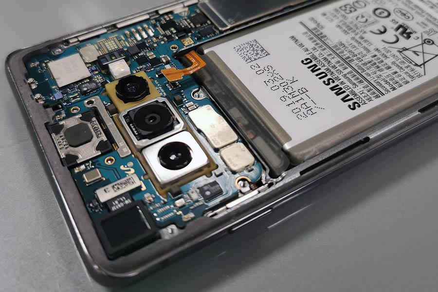 bateria w telefonie samsung